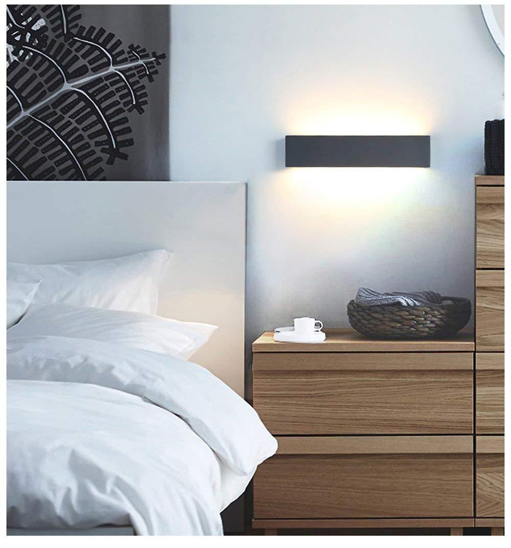 Couleur: Sable # 1-36cm BAIF Miroir Front Light Mirror Light Salle de Bains Nordic Minimaliste Moderne Salon Chambre /à Coucher All/ée Chevet Creative Mirror Wall Lamp