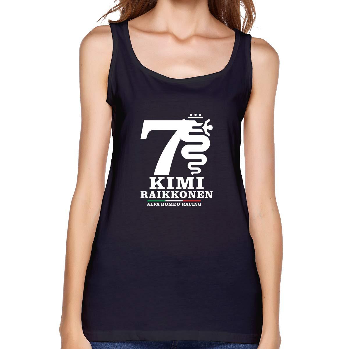 Kabashiji Kimi Rkonen Alfa Romeo Racing S Tank Top Sleeveless T Shirt 100 Bodybuilding Tsh