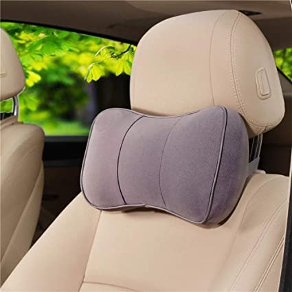 homdsim Universal coche automático vehículo asiento reposacabezas cabeza almohada cervical Camail cojín de espuma con efecto memoria