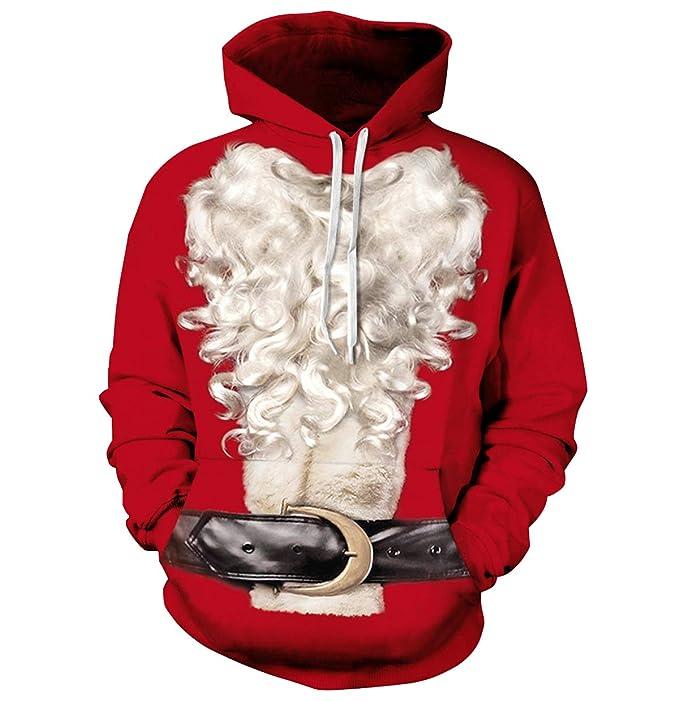 Sudaderas con Capucha Hombre de Navidad Jersey Navideño Mujer Sueter Sweaters Sudadera Estampadas Hoodies Personalizadas Sweaters Jerseys Navideños Renos ...