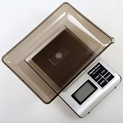 lerda pe Digital Kitchen Scale 3kg Mini balanzas electrónicas con pantalla LCD, baterías funcionan,