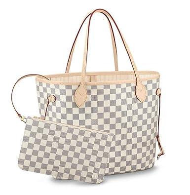 16a306d90af01 Womens Canvas Neverfull Tote Bag Large Volume Shoulder Bag: Handbags:  Amazon.com