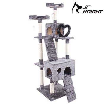JR Knight CT301DGE Árbol para gatos, muebles para gatos de 6 ...