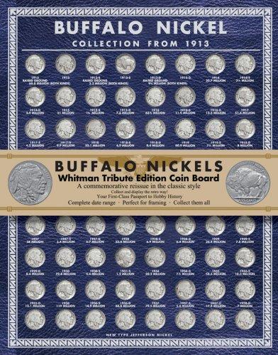 - Buffalo Nickels Tribute Board (Whitman Tribute Edition Coin Boards)
