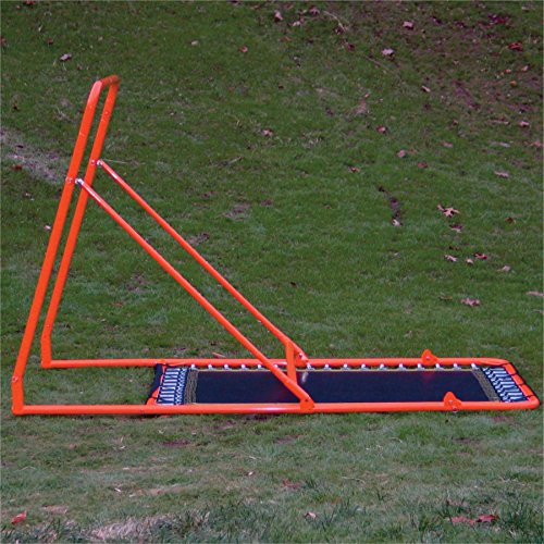 EZ Goal Professional Folding Lacrosse Throwback Rebounder, 8 Feet