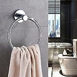 Hand Towel Ring Stainless Steel,Bathroom Towel