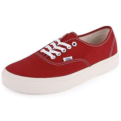 224ce45a451215 Vans Vintage Authentic Mens Canvas Trainers Dark Red - 12 UK  Amazon.co.uk   Shoes   Bags