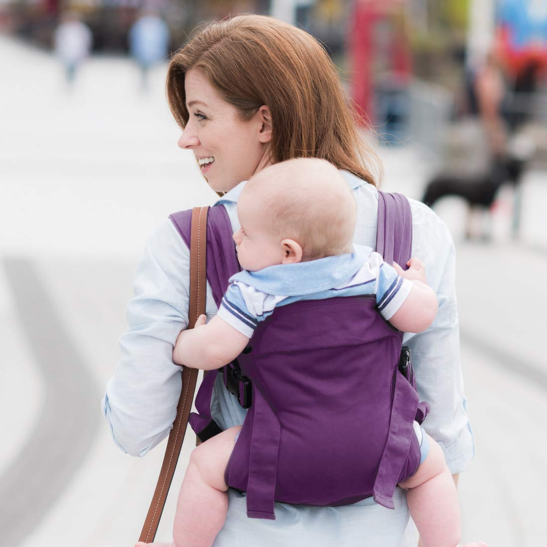 3.2kg-15kg Multiple Carrying Positions New Born Carrier Teal Izmi Baby Carrier