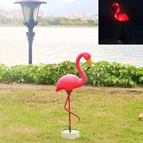 GDF Special offer new no solar power plastic metals Pink FLAMINGO Lawn Ornaments YARD art decor Plastic Pink Flamingos