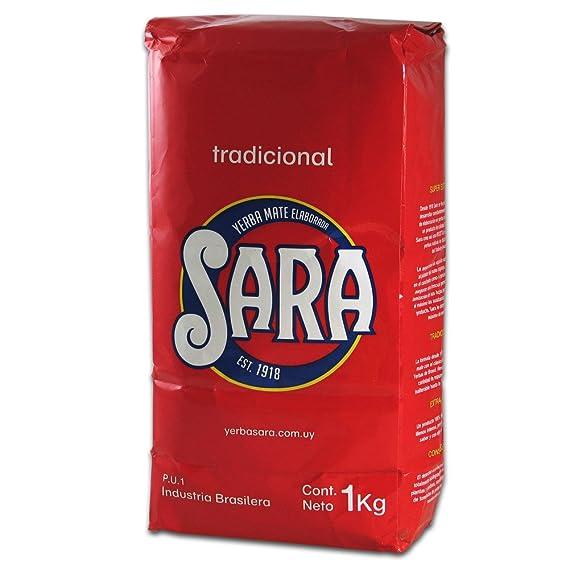 Yerba mate Sara roja 1Kg