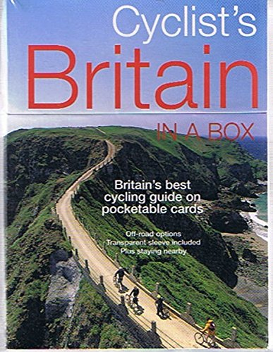 Read Online Cyclist's Britain in a Box: Britain's Best Cycling Guide on Pocketable Cards (Off-Road Options, Transparent Sleeve Included, Plus Staying Nearby) pdf