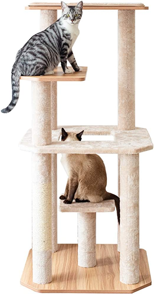 Catry Large Activity Cat Tree Ct19483 Pet Supplies
