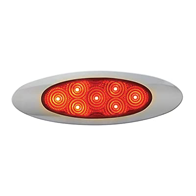 GG Grand General 77847 Red/Red LED Light (Ultra Thin Spyder Y2K 7, High/Low 3Wires): Automotive