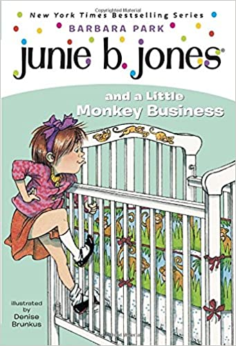 junie b jones and a little monkey business junie b jones no 2 - Junie B Jones Coloring Pages