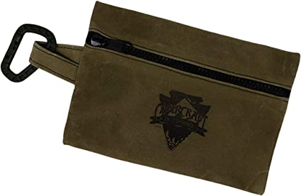 Waxed Cotton Container wallet Bushcraft CONTAINERS INCLUDED Camping