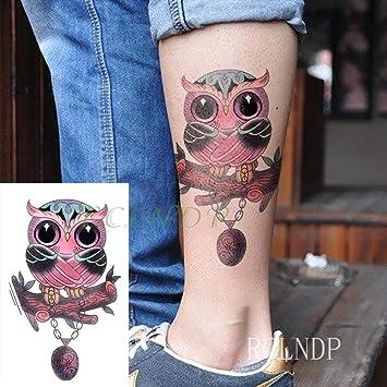 3PCS- Tattoo Time Flash Tigre Animal Tattoo Tattoo Mano Ninas Mujer Señoras Green: Amazon.es: Hogar