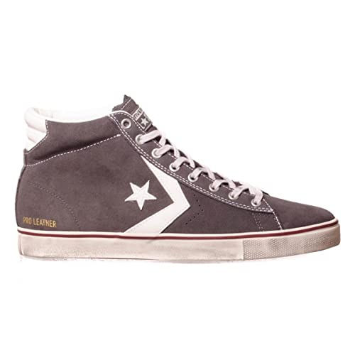 CONVERSE PRO LEATHER VULC MID SUEDE DISTRESSED STORM WIND