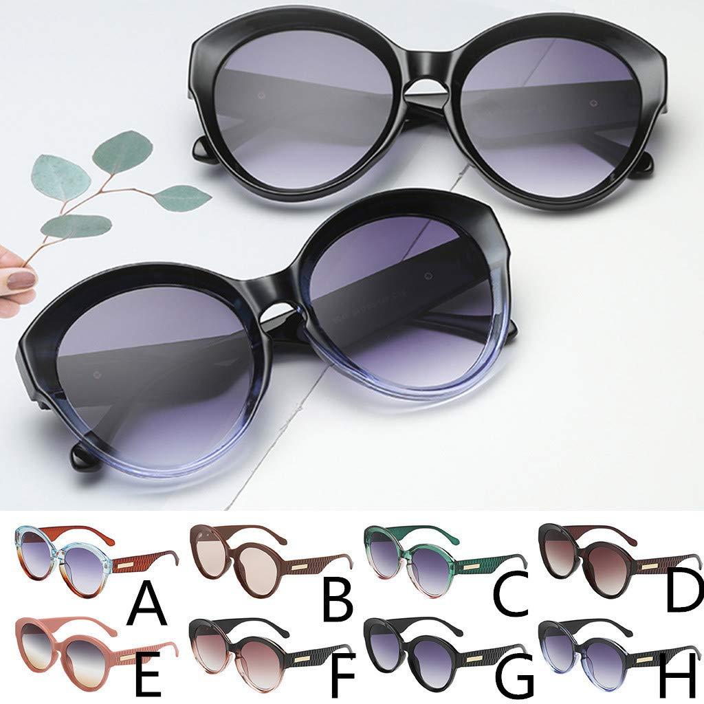 Gafas de sol de Hombres y Mujer Clásico Retro Gafas Lentes ...