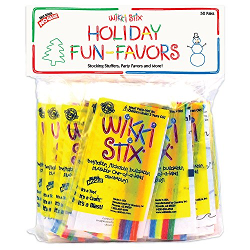 Wikki Stix Holiday Fun Favors - Christmas Favors Party