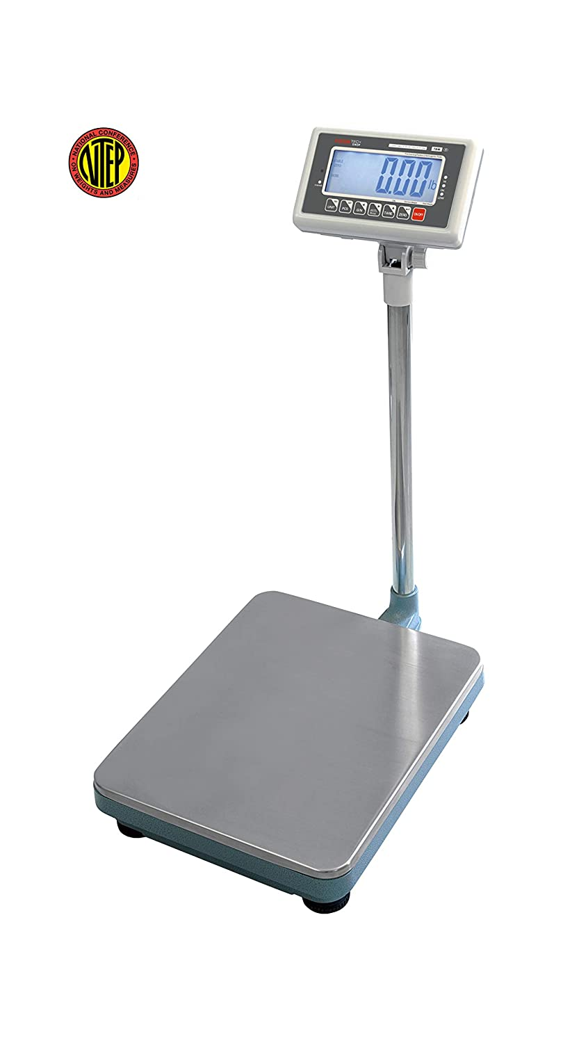 VisionTechShop TBW-200 Bench Scale for Warehouse Industrial Shipping Scale and, Lb/Kg Switchable, 200lb Capacity, 0.05lb Readability, NTEP Legal for Trade