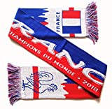 France 2018 World Champions Soccer Knit Scarf