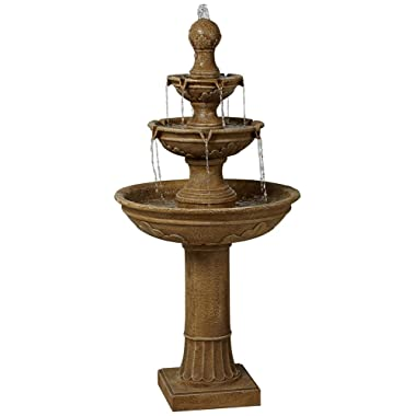 Stafford Three Tier 48  High Indoor - Outdoor Fountain
