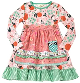 7aadf8526a4f8 Image Unavailable. Image not available for. Color: Matilda Jane Girls  Joanna Gaines Sweet Clementine Dress ...
