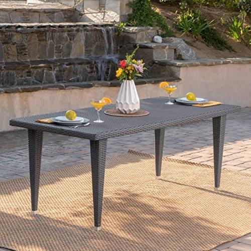 Rectangular Wicker Table (Domina Outdoor 75