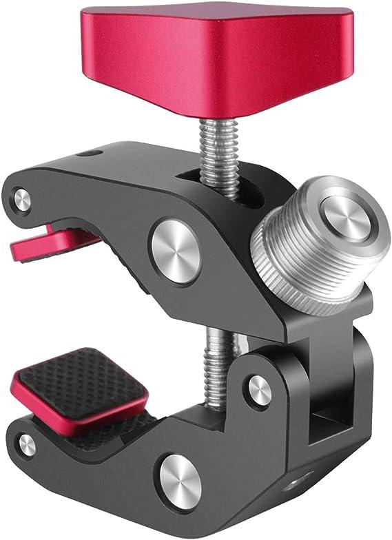 Neewer Super Klammer Griffklammer Mit 5 8 Zoll Konversionsschraube Ganzmetallausführung Für Dslr Rig Kameras Schrime Usw
