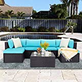 VITESSE 7 Pieces Patio Furniture Sectional