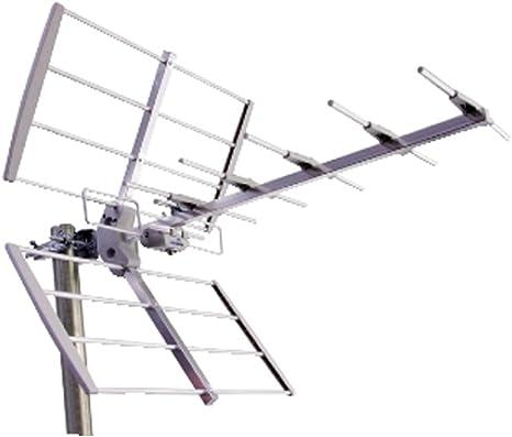 Antena exterior Yagi banda IV V 8 elementos para TV digital terrestre DVB-T uhf 11 dB: Amazon.es: Electrónica