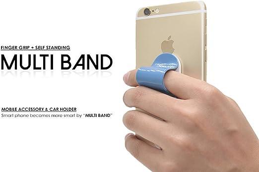 amtopshow Multi banda, teléfono celular agarre seguro, Universal ...