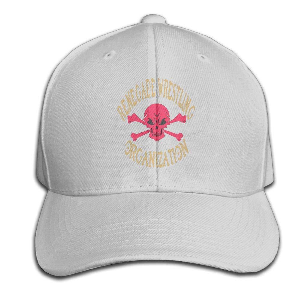 BLUERTUE Men's Renegade Wrestling Organization Tee Baseball Hat Trucker Hat Dad Cap Plain Cap