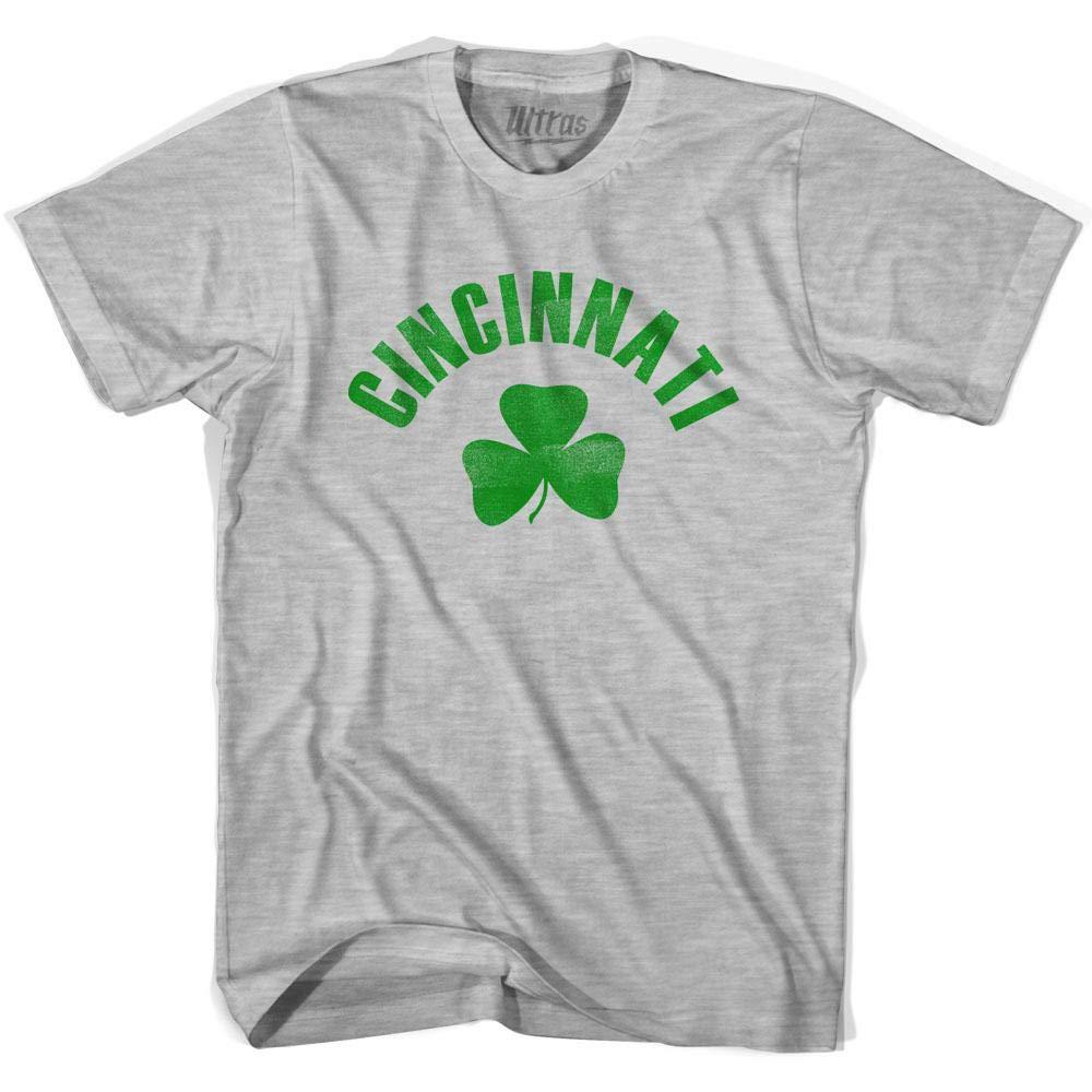 Ultras Cincinnati City Shamrock Cotton T-Shirt