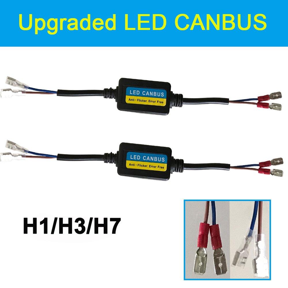 H1 H3 H7 LED Anti Flicker