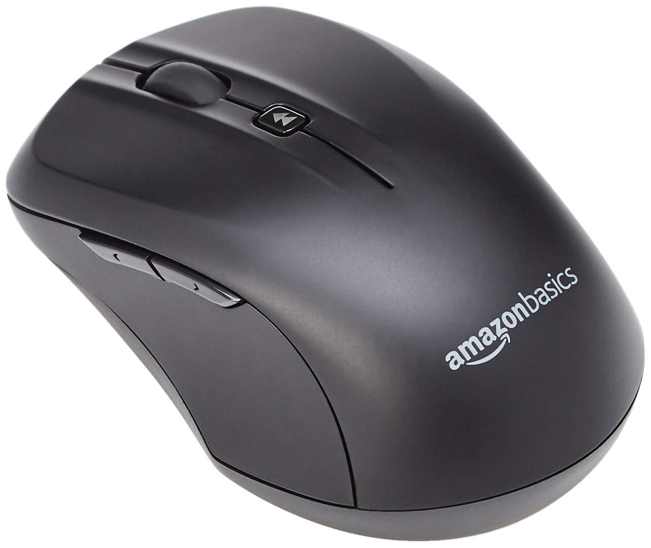 AmazonBasics - Juego de teclado y ratón inalámbricos, tamaño completo, versión ES (QWERTY): Amazon.es: Informática