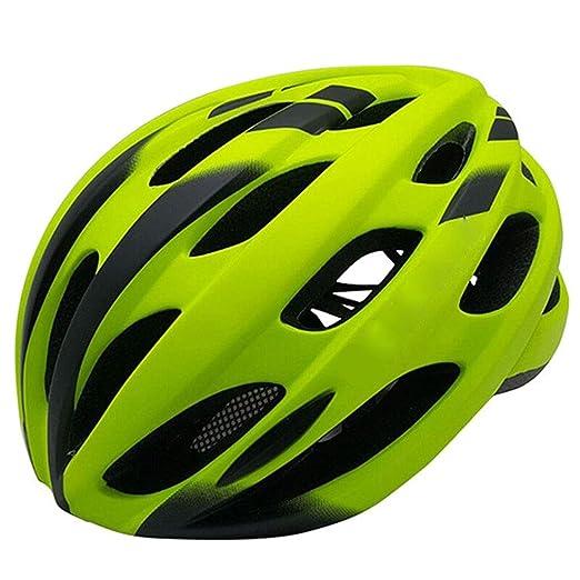 TKXZM Ciclo Casco De Bicicleta For Mujeres Hombres Luces De ...