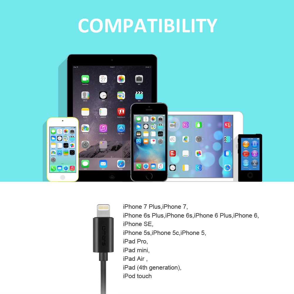 Ecouteur iPhone 7 7 Plus Certifie Mfi (on-ear, Noir)