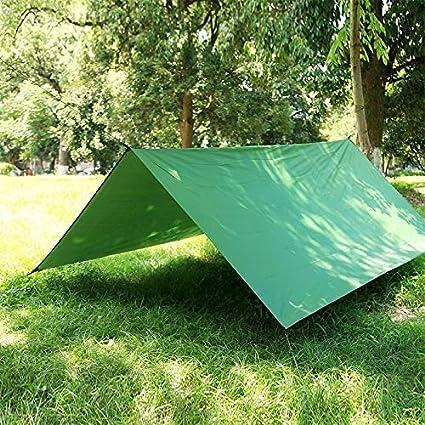 DMXYY-Camping - multifunción Impermeable al Aire Libre Tienda de campaña de protección Solar Beach toldo Refugio Pergola (Verde del ejército) (Color : Army Green): Amazon.es: Electrónica