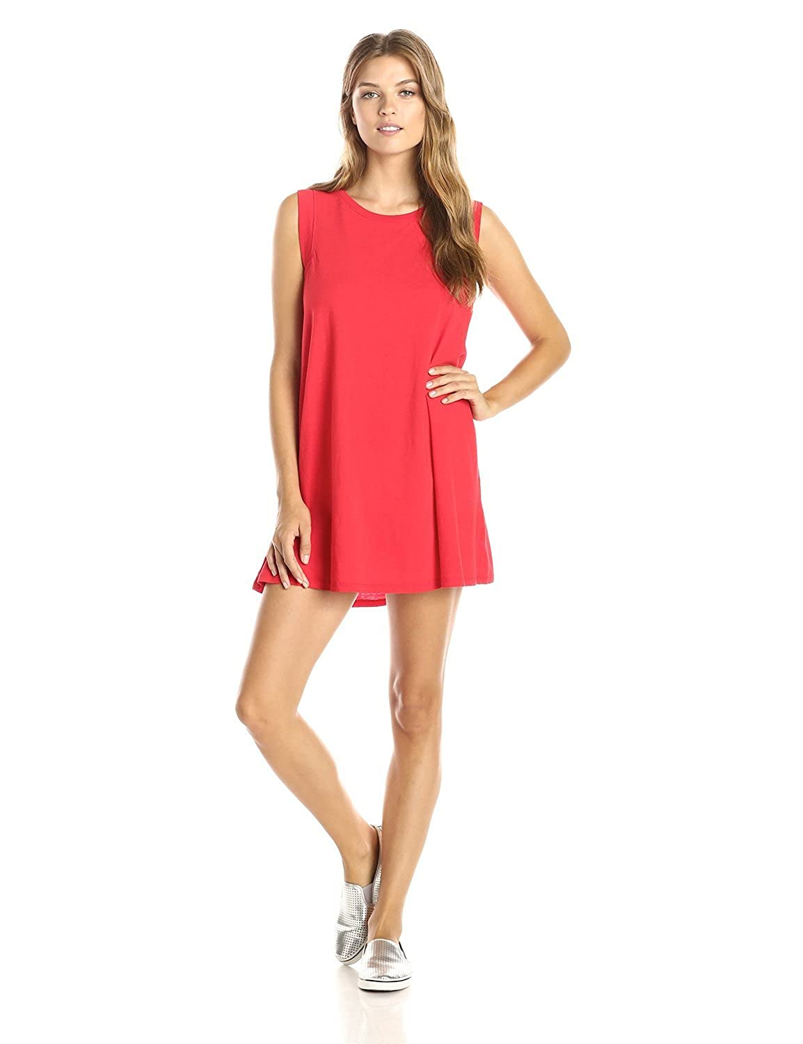 Metalopituy Women's Party Dress Red