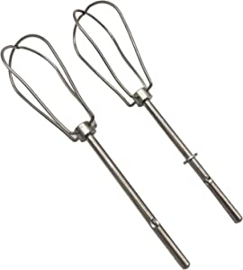 2 Pack Hand Mixer Turbo Beater Replace for W10490648 Compatible with KHM series hand mixers AP5644233, W10240913, AP5644233, PS4082859