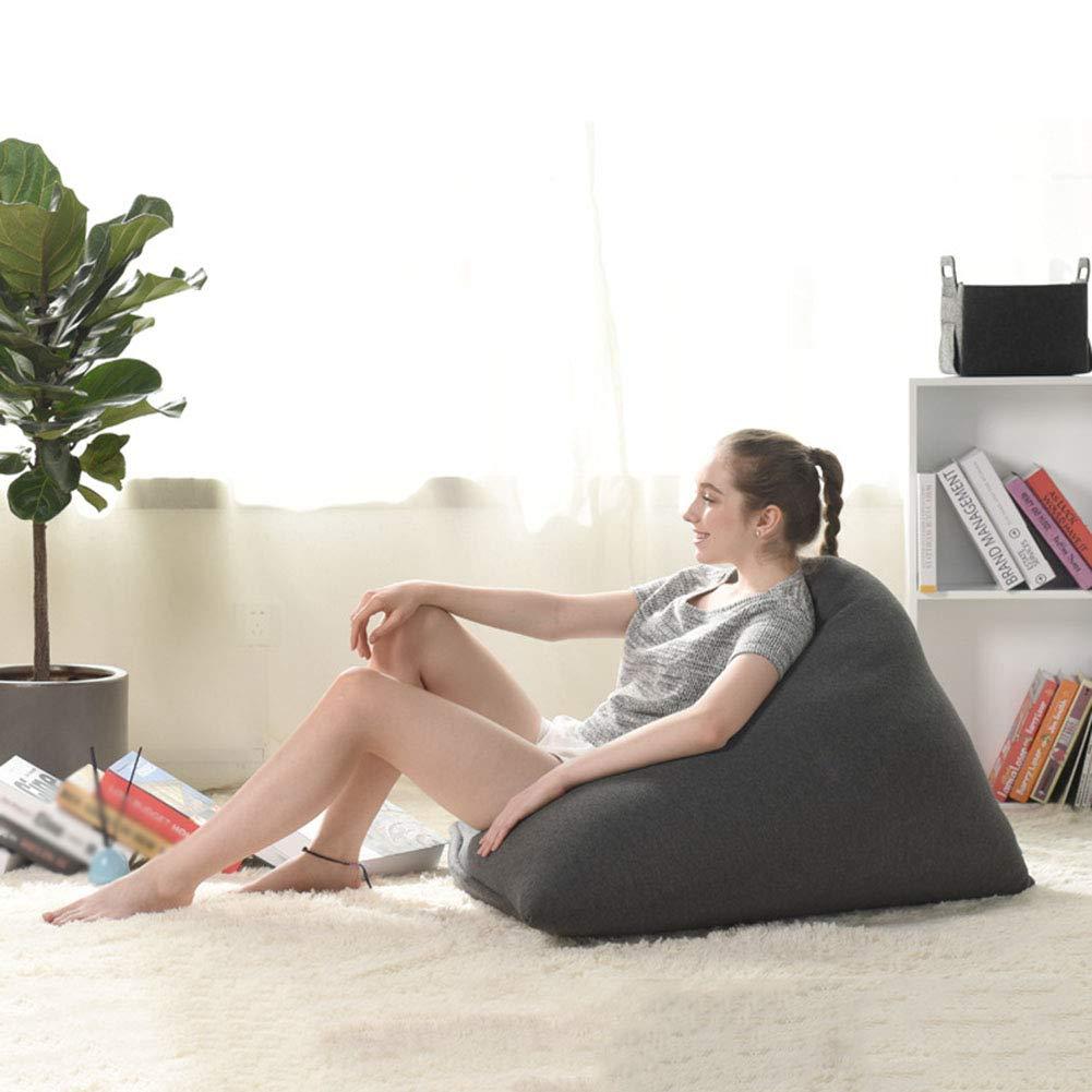 Sitzsack Sessel f/ür Kinder und Erwachsene In /& Outdoor Sitzs/äcke Kissen Sofa Hocker Sitzkissen Bodenkissen Erker-Fenstersofa im japanischen Stil f/ür kleine Apartments 80 x 95 x 60cm,LightGray