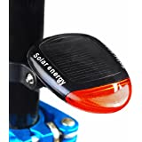 3 Mode Solar Power 2 LED Rear Flashing Tail Light Lamp For Bicycle Bike Cycling