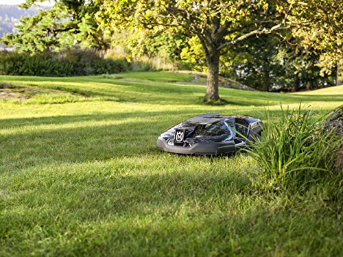 powered robotic lawn mower