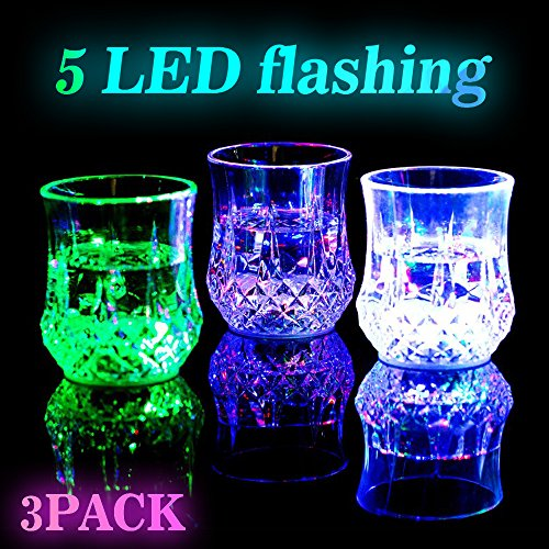 Led Light Up Flashing Wine Glasses in Florida - 6