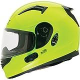 O'Neal Commander Bluetooth Helmet (Hi-Viz, X-Small)