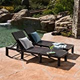 Great Deal Furniture Joyce Outdoor Multibrown Wicker Chaise Lounge without Cushion (Set of 2) Review