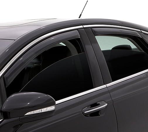 Fits GMC Sierra 1500 Ext Cab 2003-2006 AVS Ventvisor Window Visors Rain Guards