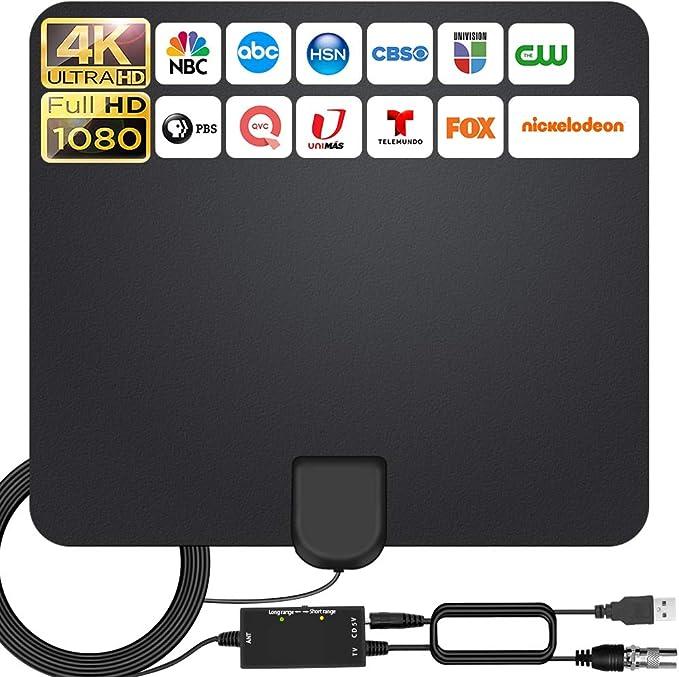 2021 Más Nuevo Antena Interior TV,240KM Alcance con ...
