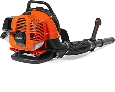 XtremepowerUS 31cc Outdoor Backpack Gas-Powered Leaf Blower 2-Cycle Engine Padded Strap, EPA Motor